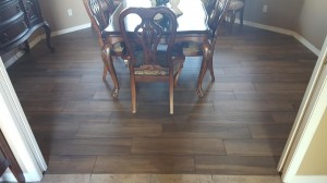 Wood planks tile