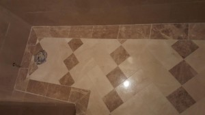 Marble floor powder
